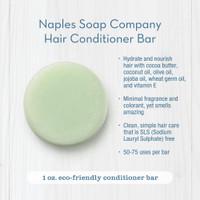 Coconut Lime Conditioner Bar Description