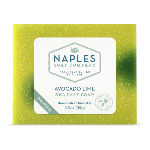Avocado Lime Sea Salt Soap