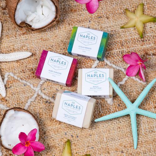 Beach Vibes Sea Salt Soap Stack