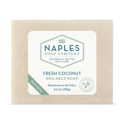 Fresh Coconut Sea Salt Soap
