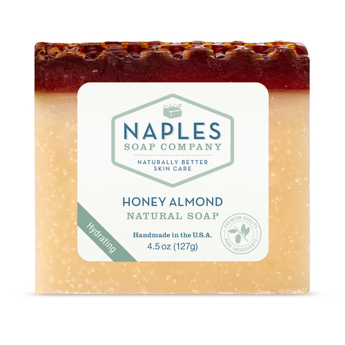 Honey Almond Natural Soap