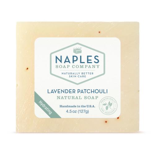Lavender Patchouli Natural Soap