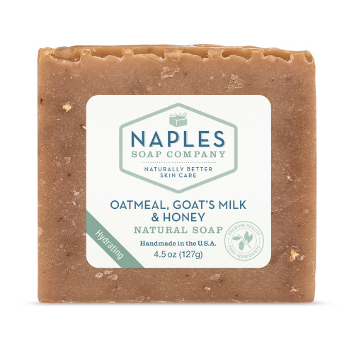 Oatmeal Goats Milk and Honey Natural Soap
