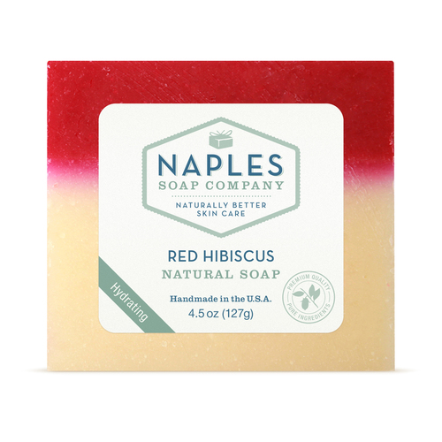 Red Hibiscus Natural Soap