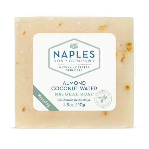 Almond Coconut Water Natural Soap