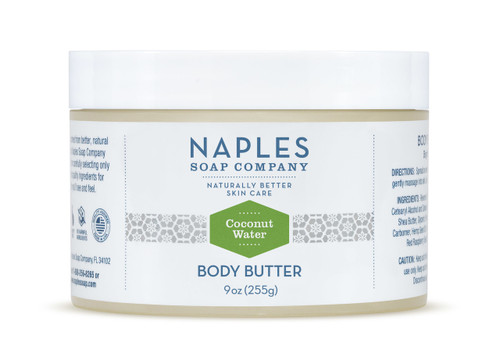 Coconut Water Body Butter 9 oz