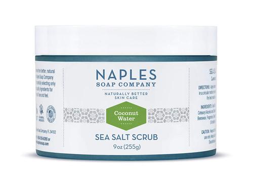 Coconut Water Sea Salt Scrub
