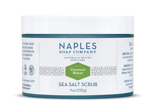 Coconut Water Sea Salt Scrub