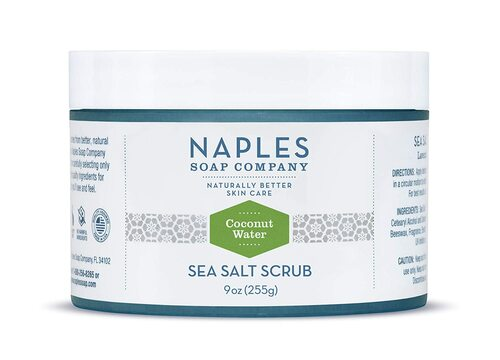 Coconut Water Sea Salt Scrub 9 oz
