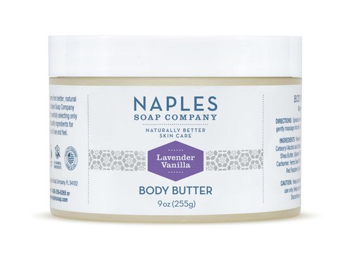 Lavender Vanilla Body Butter 9 oz