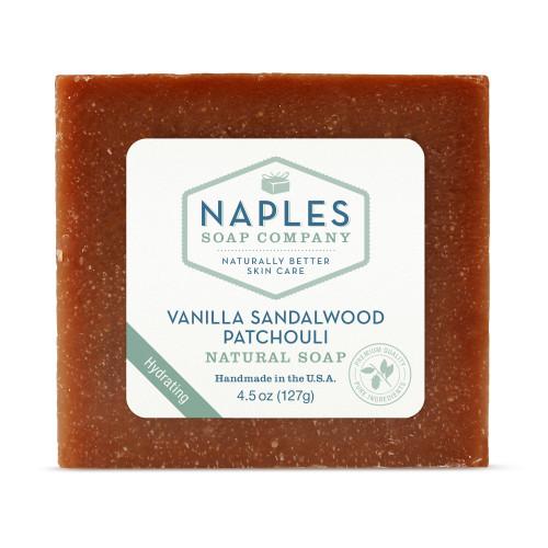 Vanilla Sandalwood Patchouli Natural Soap