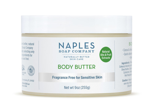 Fragrance Free Body Butter 9 oz
