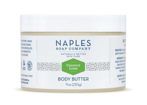 Coconut Lime Body Butter 9 oz