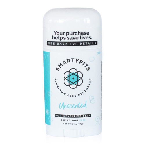 SmartyPits deodorant - Unscented