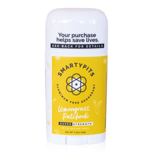 SmartyPits deodorant - Lemongrass Patchouli