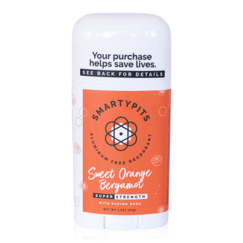 SmartyPits deodorant - Sweet Orange Bergamot