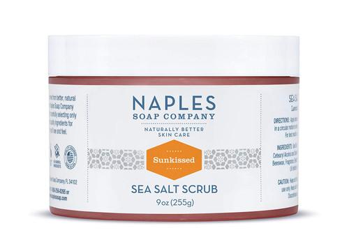 Sunkissed Sea Salt Scrub 9 oz