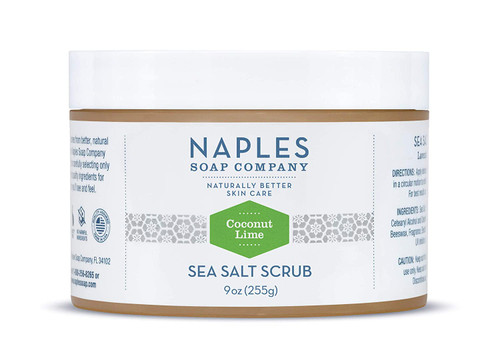 Coconut Lime Sea Salt Scrub