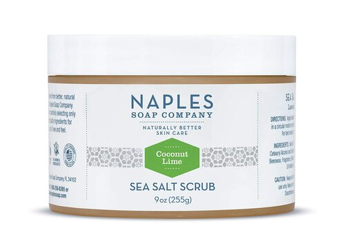 Coconut Lime Sea Salt Scrub 9 oz