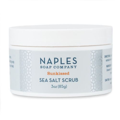 Sunkissed Sea Salt Scrub 3 oz