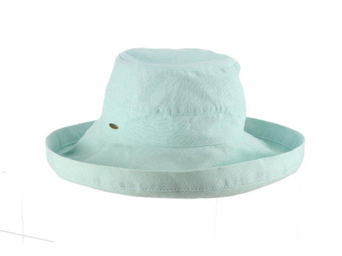 Aqua Cotton Brim Hat