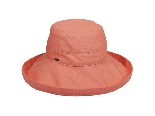 Pink Grapefruit Cotton Brim Hat