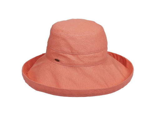 Pink Grapefruit Cotton Brim Hat