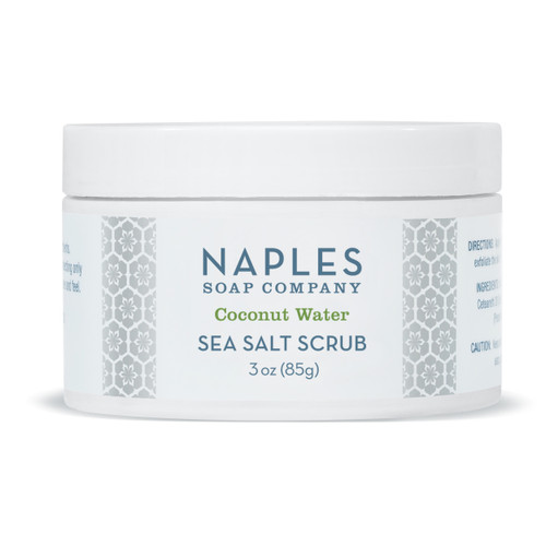 Coconut Water Sea Salt Scrub 3 oz
