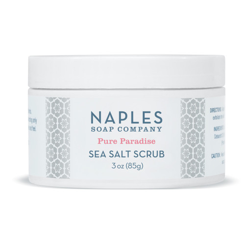 Pure Paradise Sea Salt Scrub 3 oz