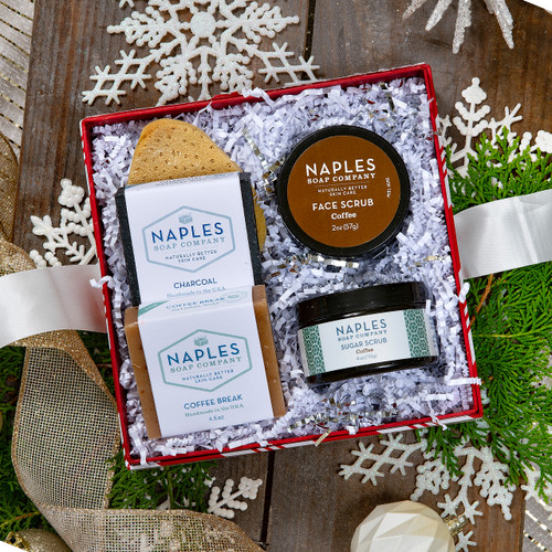 Coffee Charcoal Detox Gift Set