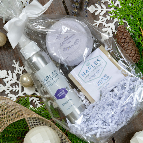 Lavender Lovers Shower Must Haves Gift Set