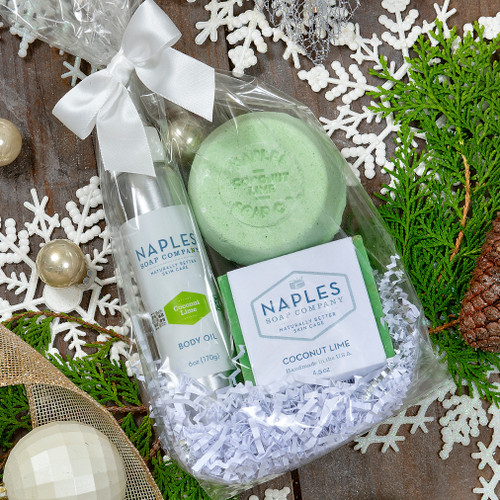 Coconut Lime Shower Must Haves Gift Set