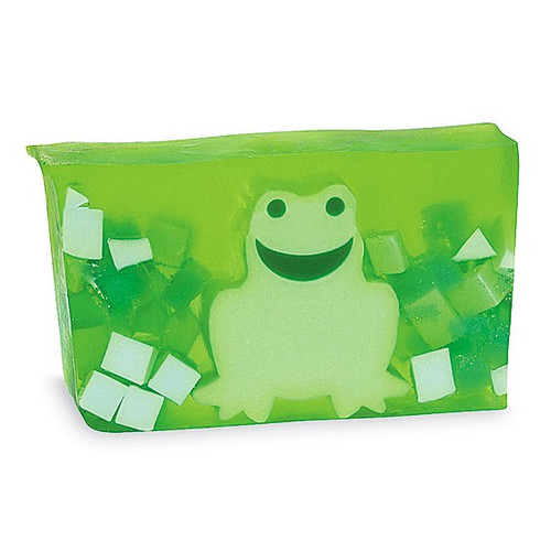Green Frog Novelty Soap