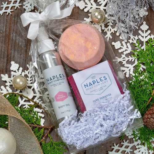 Pure Paradise & Rose Must Haves Shower Gift Set