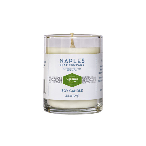 Coconut Lime Scented Votive Candle