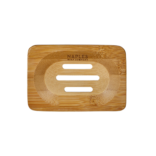 Rectangle Bamboo Soap Dish