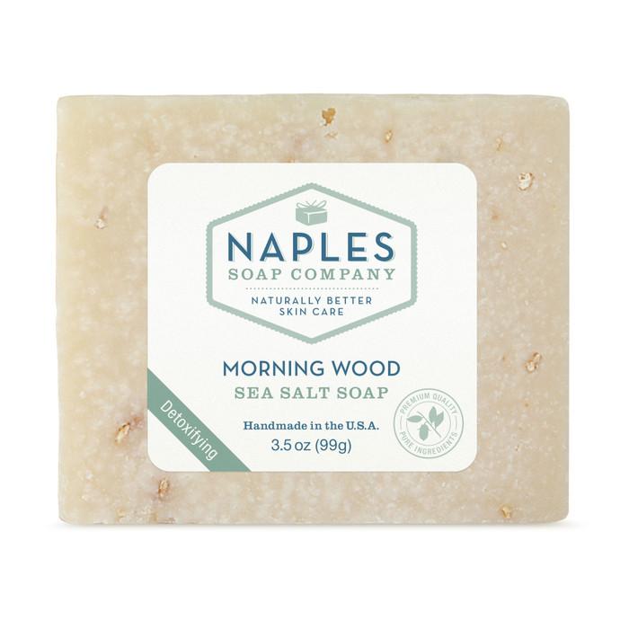 Morning Wood Sea Salt Soap
