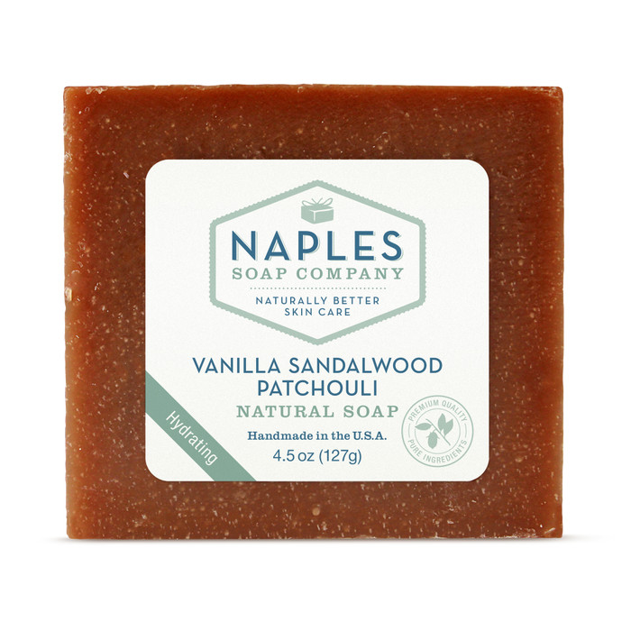Vanilla Sandalwood Patchouli Natural Soap