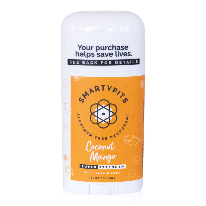 SmartyPits deodorant - Coconut Mango