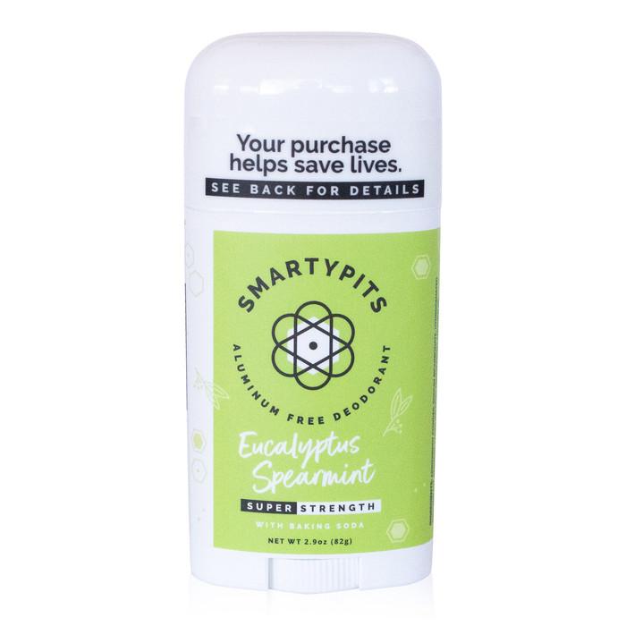 SmartyPits deodorant - Eucalyptus Spearmint