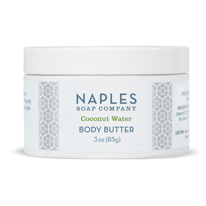 Coconut Water Body Butter 3 oz Travel Size