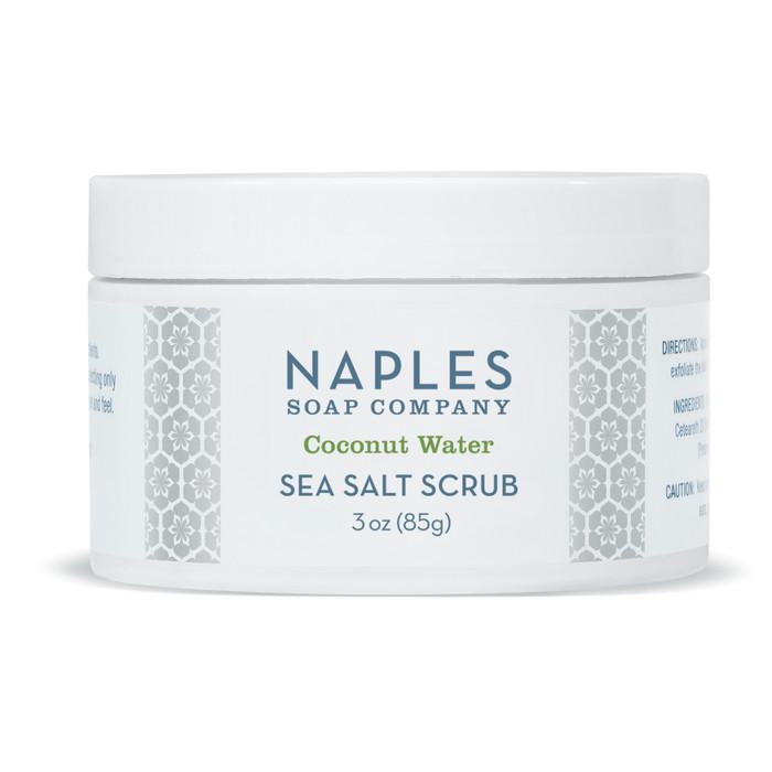 Coconut Water Sea Salt Scrub 3 oz