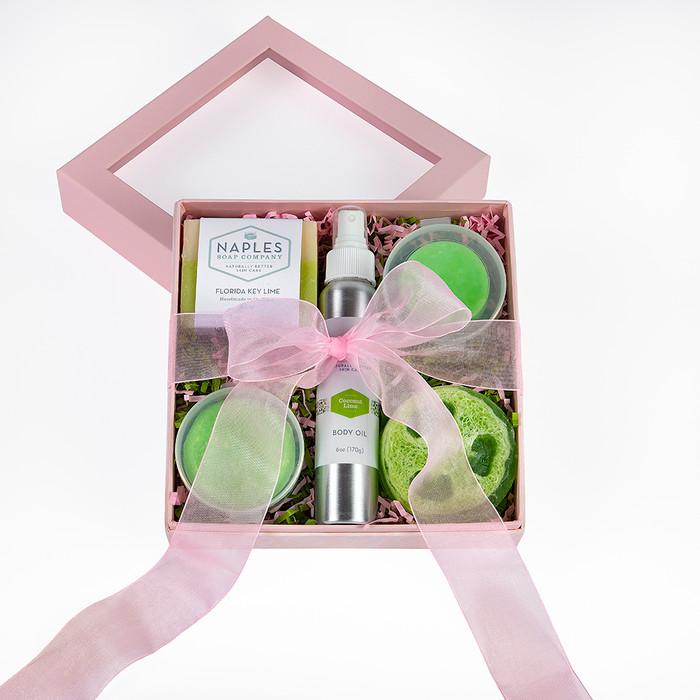 Coconut Lime Pink Gift Set