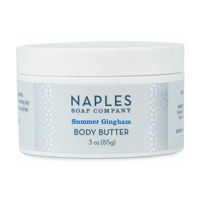 Summer Gingham Body Butter 3 oz