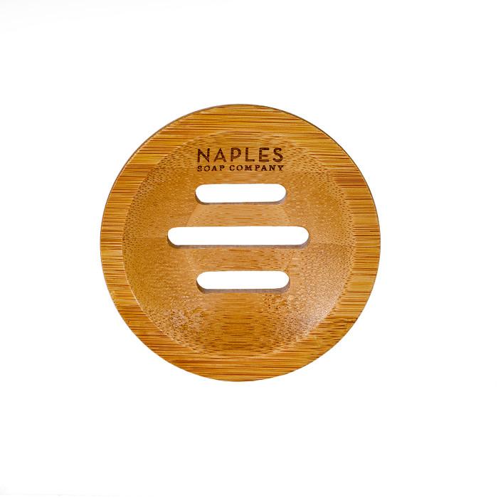 Round Bamboo Soap Dish