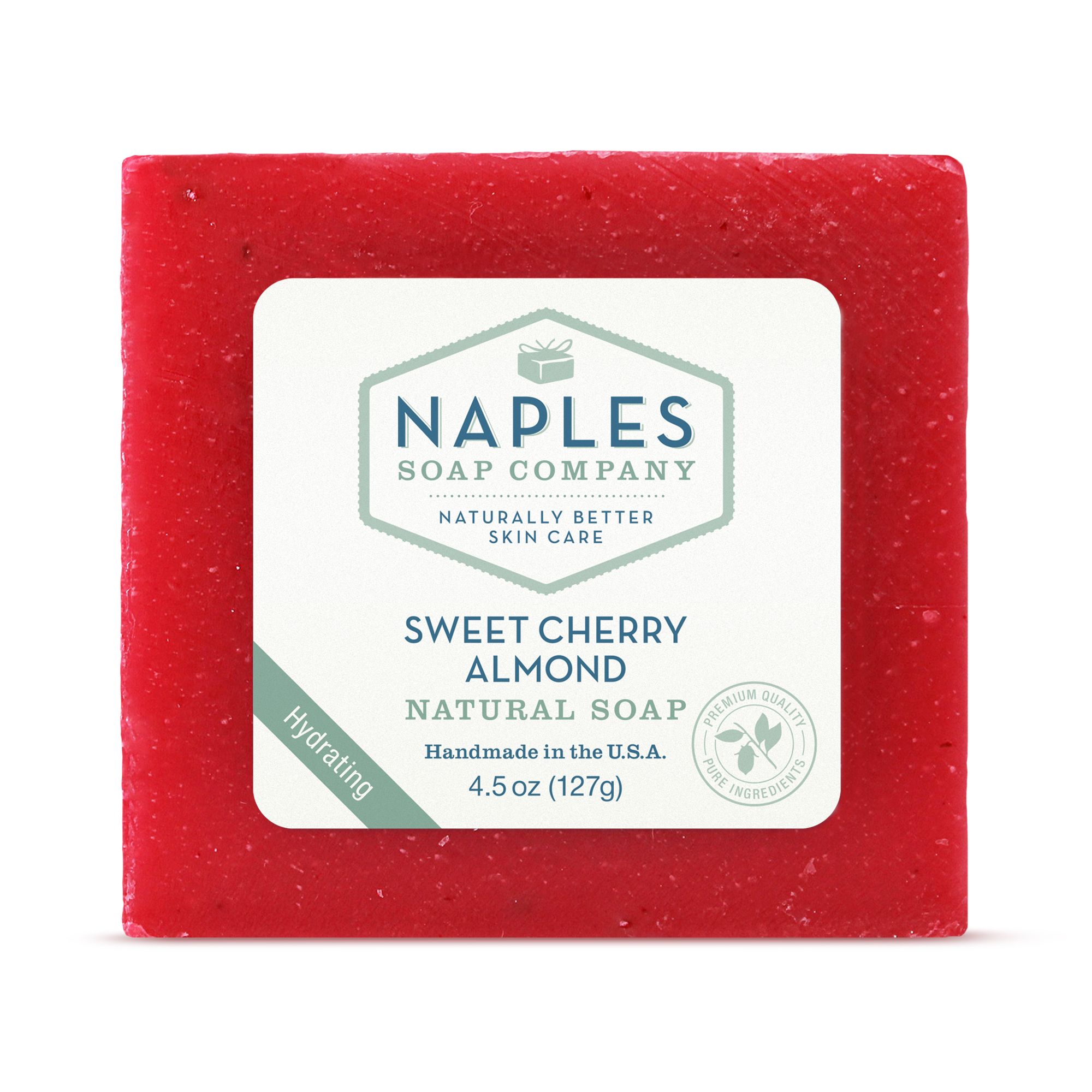 Sweet Cherry Almond Natural Soap