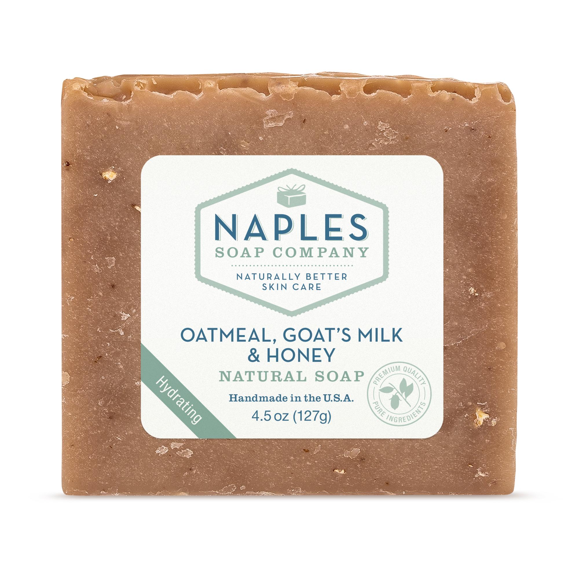 Oatmeal Goats Milk and Honey Natural Soap