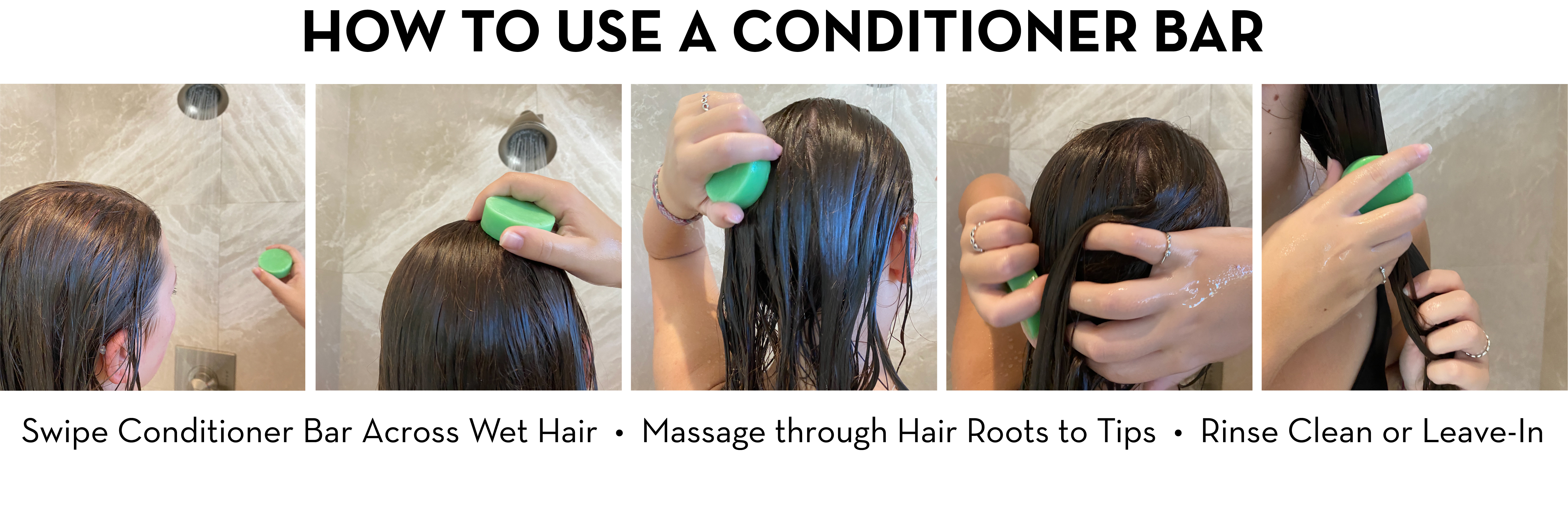 How to Use a Conditioner Bar