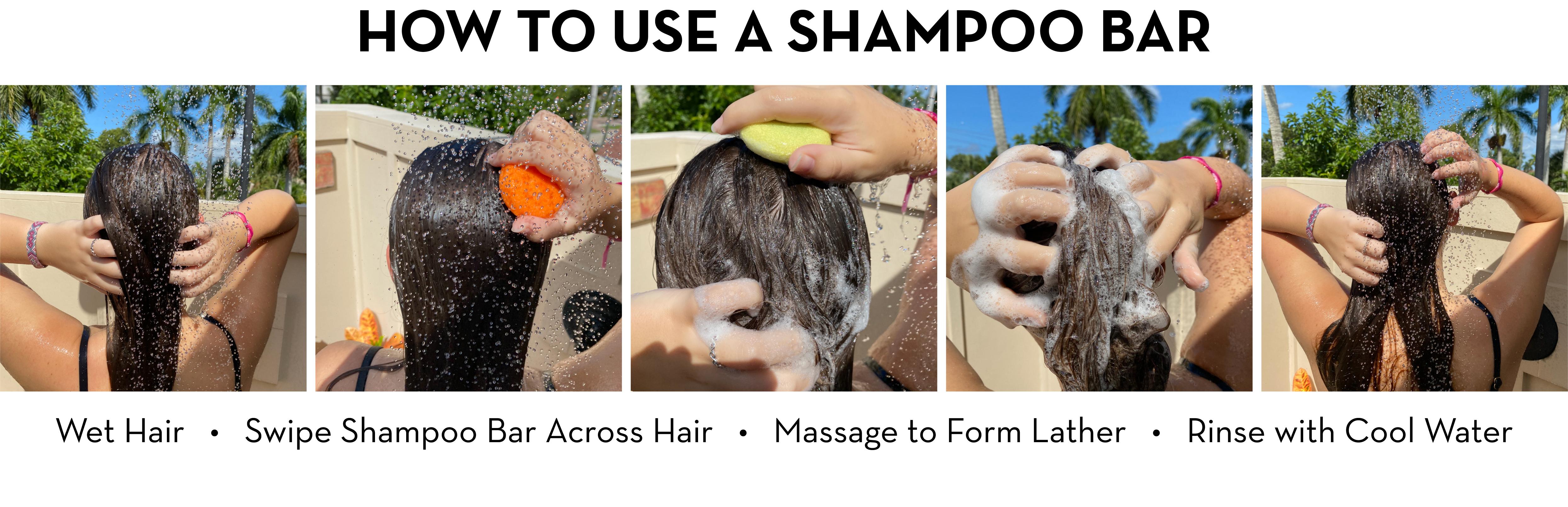 How to Use a Shampoo Bar