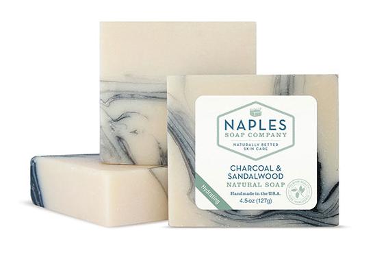 Charcoal and Sandalwood Natural Soap